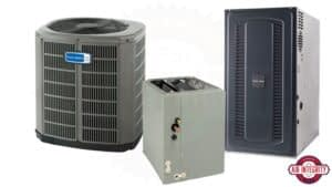 3 different types of A/C units